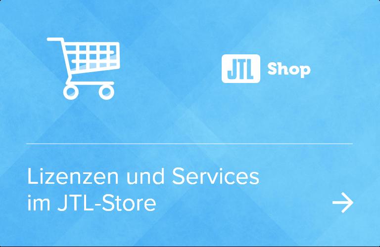 Lizenzen und Services von JTL-Shop 5 im JTL-Store