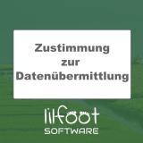 LilFOOT Zustimmung zur Datenübermittlung