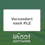 LilFOOT Versandart nach PLZ