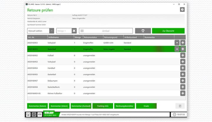 JTL-WMS Lizenz (Zusatzbenutzer)