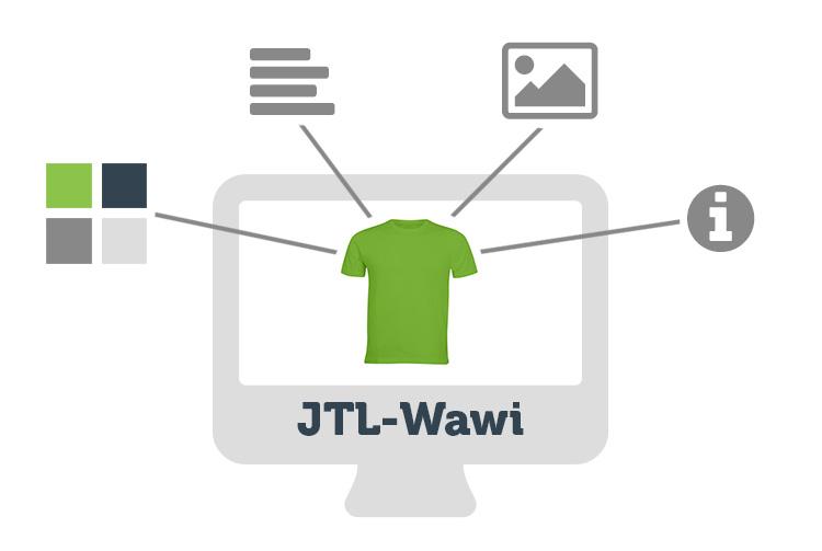 Zentrale Datenpflege in JTL-Wawi