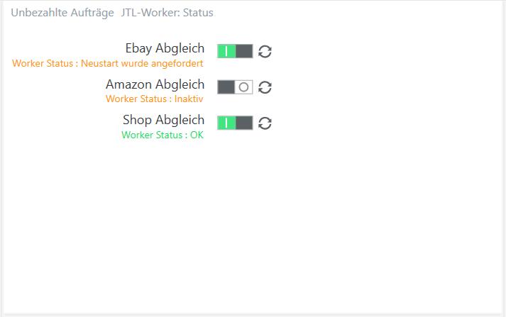 Widget für den JTL-Worker