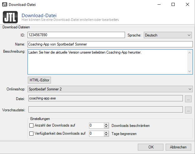 Dateien zum Download anbieten