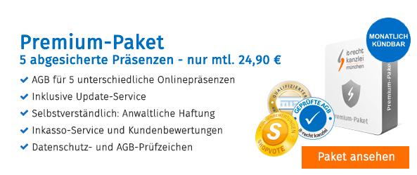 IT Recht Kanzlei Premium Paket JTL Technologiepartner