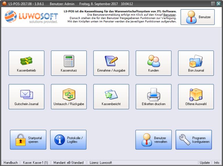 Startportal Luwosoft JTL Technologiepartner