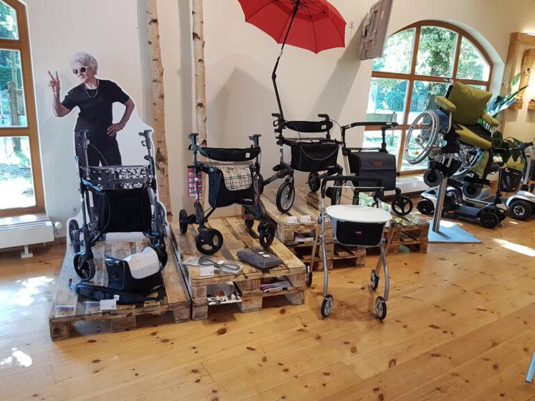 Ausstellung Ladengeschäft Vitego