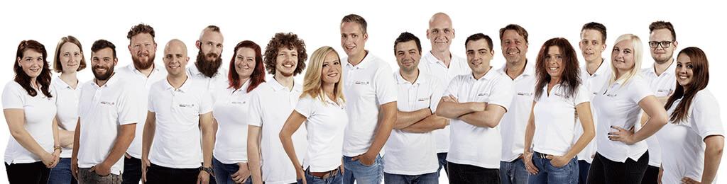 Das Mitarbeiterteam bei Click-Licht