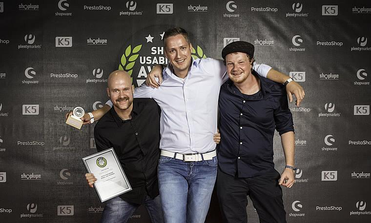 Shop Usability Award 2015: Preisverleihung an Click-Licht