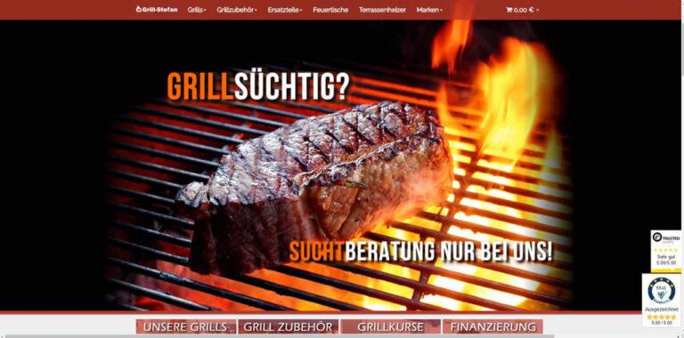 JTL-Shop Startseite Grill-Stefan