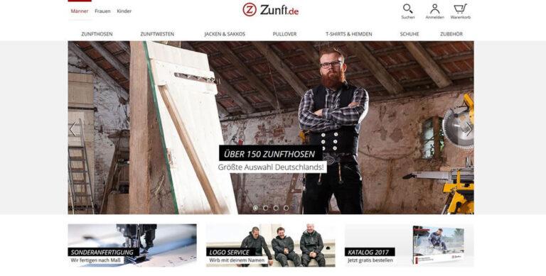 JTL-Shop Startseite - Zunft.de
