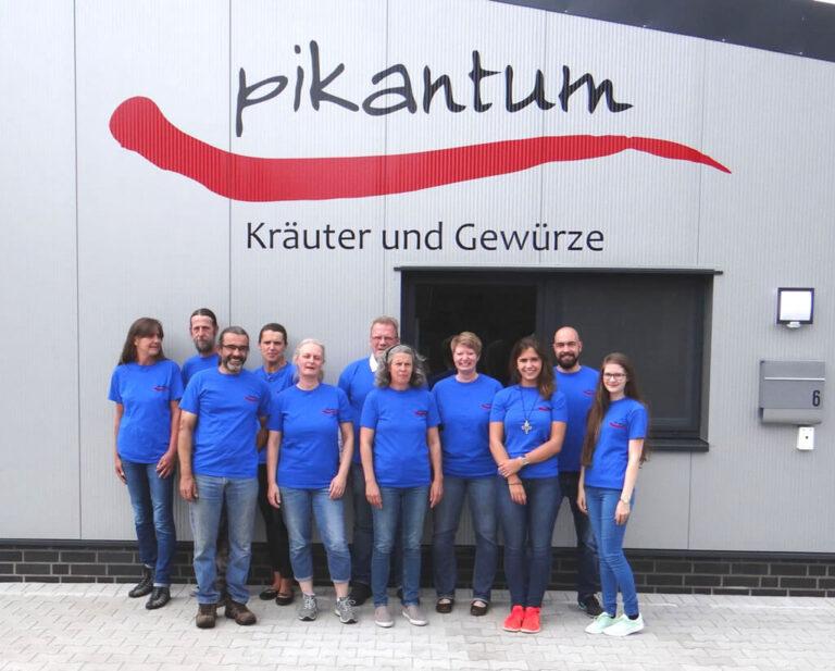 Das Team von Pikantum