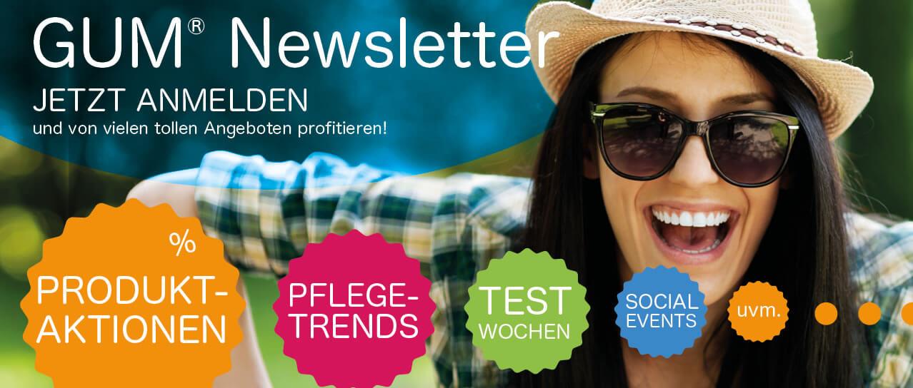 Marketing-Banner zur Anmeldung Newsletter