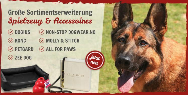 Ausweitung des Sortiments im Hundefeinkostladen