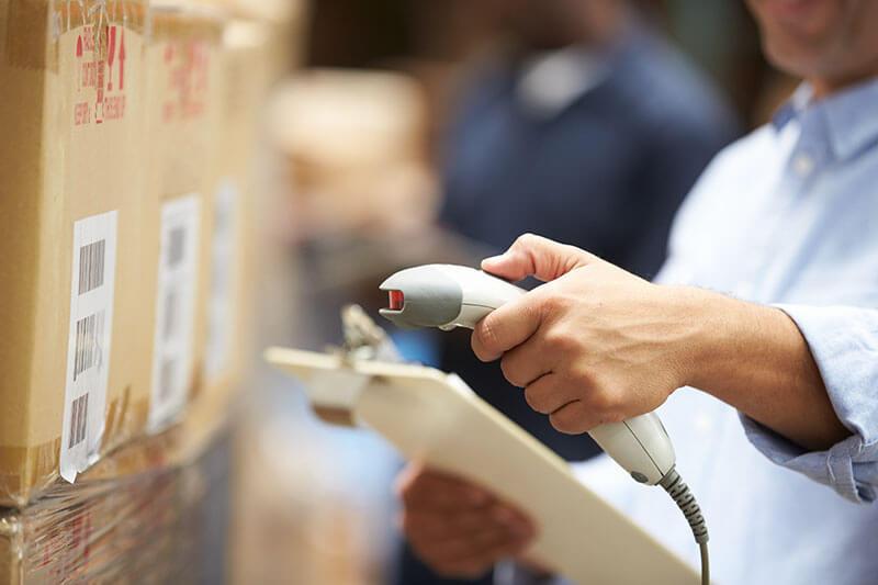 Lieferungen an Amazon-FBA-Lager werden mit 2D-Barcode versehen